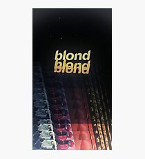 Frank Ocean - Blonde (x3) Photographic Print