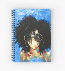 Naturally XVI Blue Spiral Notebook