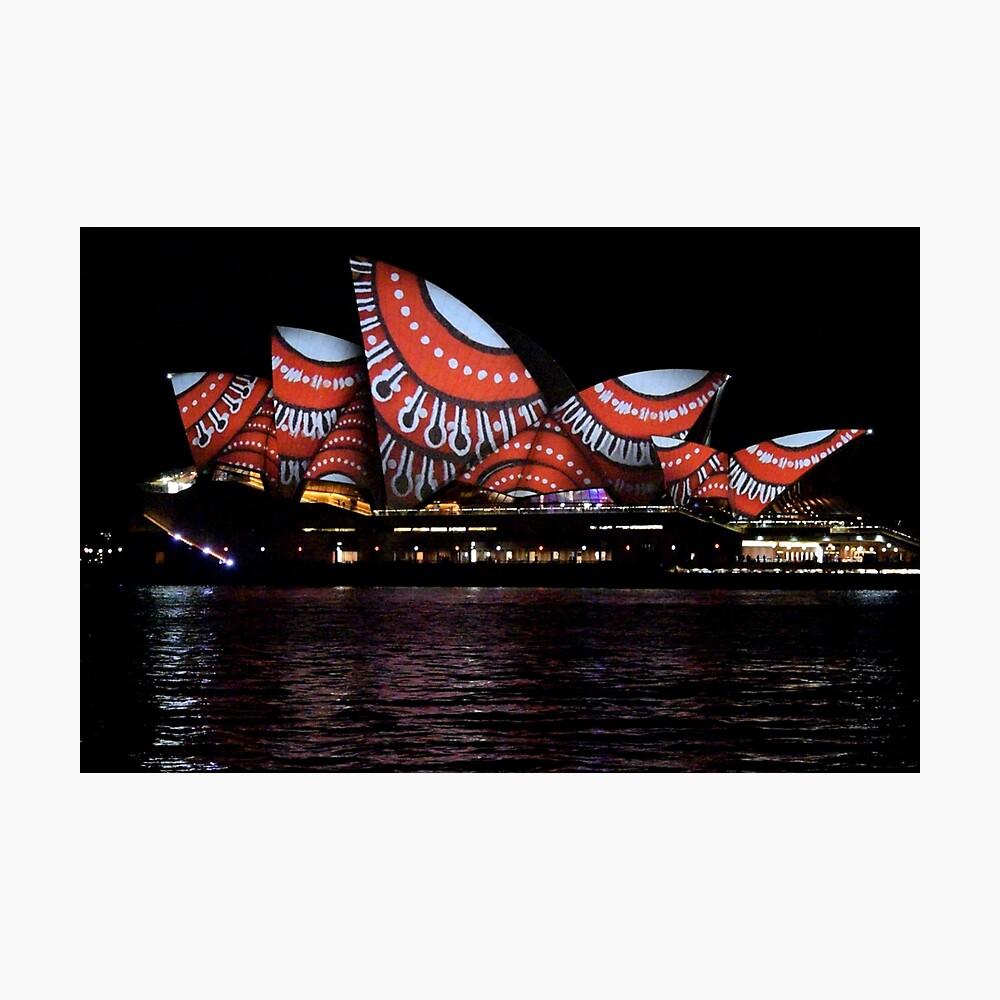 Vivid 2016 Opera House 23 Photographic Print