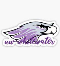 UW-Whitewater Warhawk Sticker