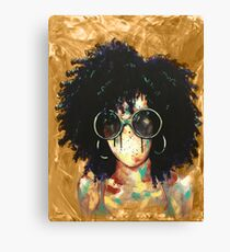 Naturally XVI GOLD Canvas Print