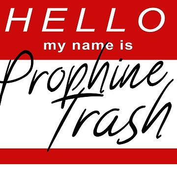 """Hello My Name Is """"Prophine Trash"""" - Orphan Black by c-sima"""