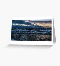 Storm Shore Greeting Card