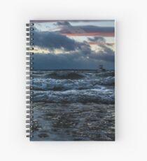 Storm Shore Spiral Notebook