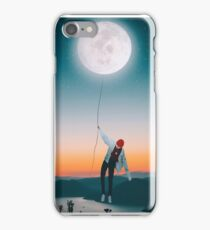 love to the moon and back  iPhone Case/Skin