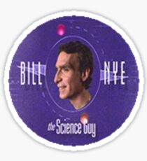 bill nye science guy sticker Sticker