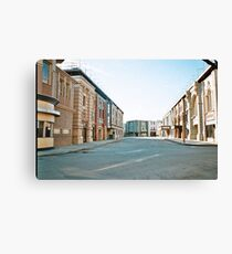 Warner Brothers Studios Film Set Hollywood California 35mm Canvas Print