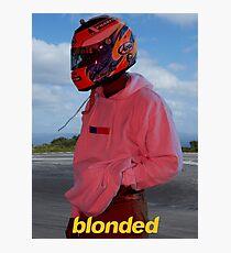 Frank Ocean - Blonde - Helmet Photographic Print