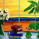 Judalees Window by WhiteDove Studio kj gordon