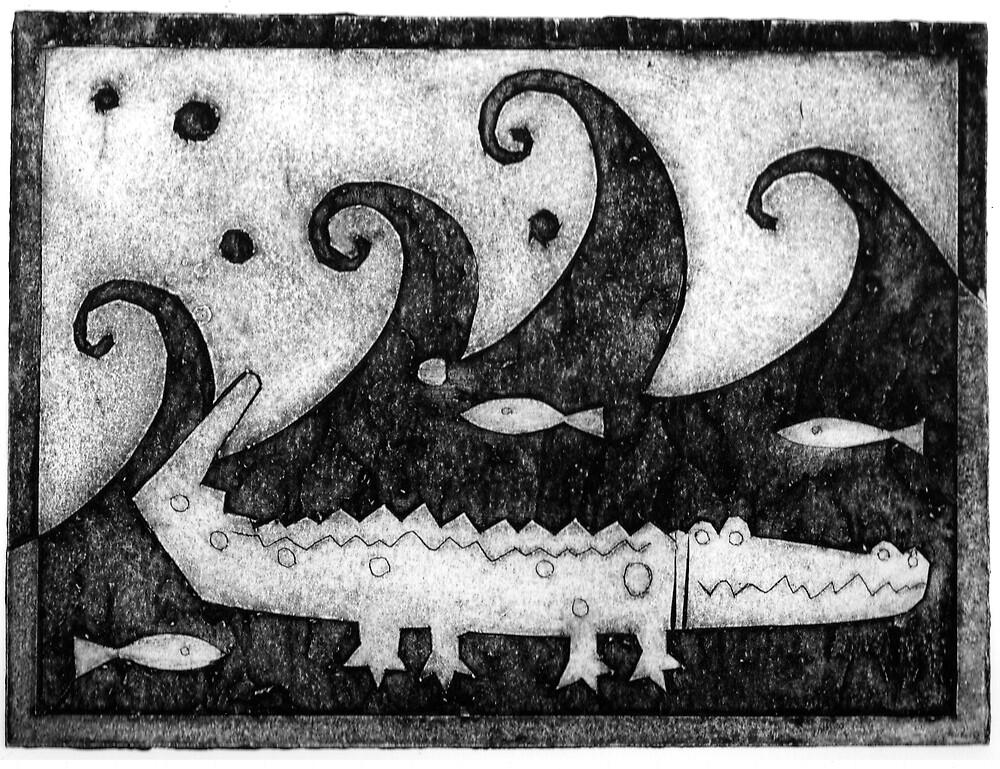 croc by Patsy Bush