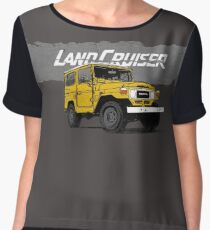 FJ40 land cruiser  Women's Chiffon Top