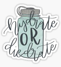Hydrate or Die-drate  Sticker