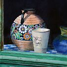 The French Potter's Window by Jan Lawnikanis