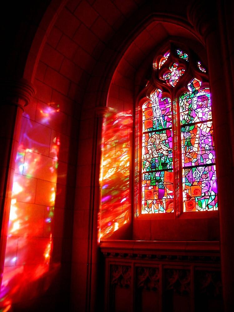 Window of Fire and Light by Tom  Reynen