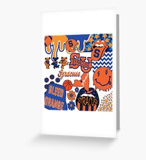 Syracuse Collage Greeting Card