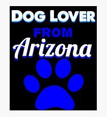 Dog Lover From Arizona Photographic Print