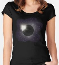The Great Eclipse Women's Fitted Scoop T-Shirt