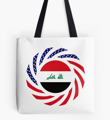 Iraqi American Multinational Patriot Flag Series Tote Bag