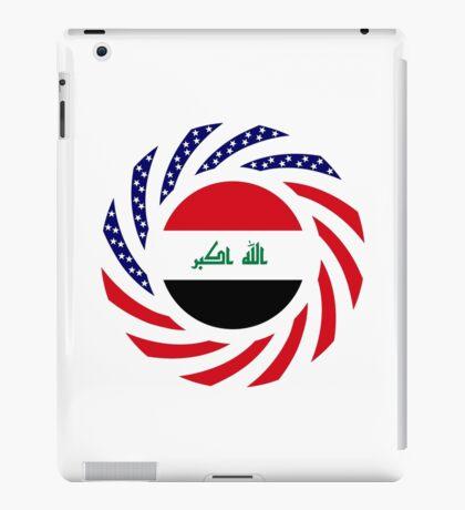 Iraqi American Multinational Patriot Flag Series iPad Case/Skin