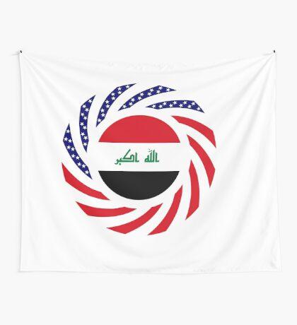Iraqi American Multinational Patriot Flag Series Wall Tapestry