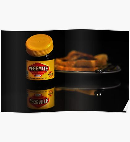 Vegemite And Toast  Poster