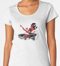 Hell on Wheels Women's Premium T-Shirt