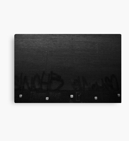 Bill posters prosecuted Canvas Print