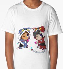 Chibi Voltron Onesie- Klance / Lance + Keith Long T-Shirt