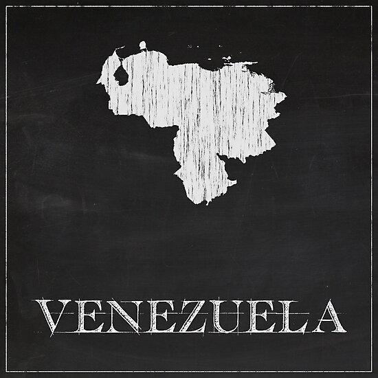 Venezuela - Chalk by FinlayMcNevin