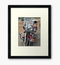 Get On it! Framed Print