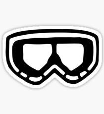 Snow Goggles Sticker