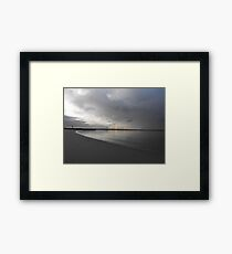Silver Water Framed Print