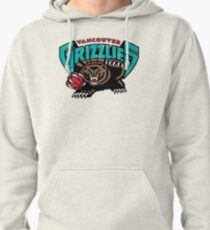 Vancouver Grizzlies Logo Pullover Hoodie