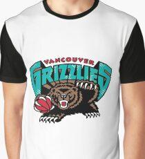 Vancouver Grizzlies Logo Graphic T-Shirt