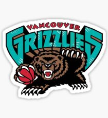 Pegatina Logotipo de Vancouver Grizzlies