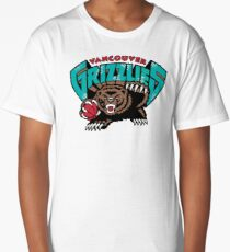 Vancouver Grizzlies Logo Long T-Shirt