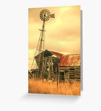 Rustic country Greeting Card