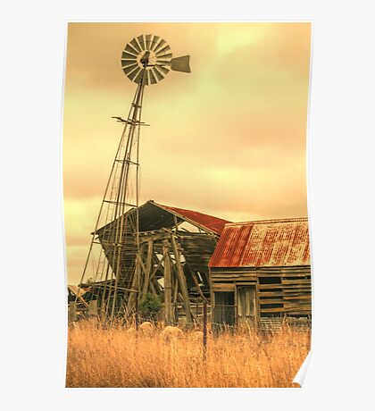 Rustic country Poster