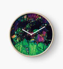 Pyroxene Crystals  Clock