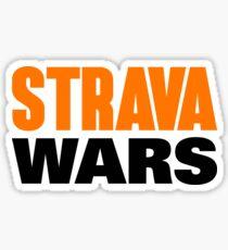 STRAVA WARS Sticker