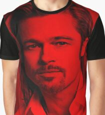 Brad Pitt - Celebrity Graphic T-Shirt