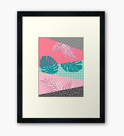Palm Springs #redbubble #decor #buyart Framed Print