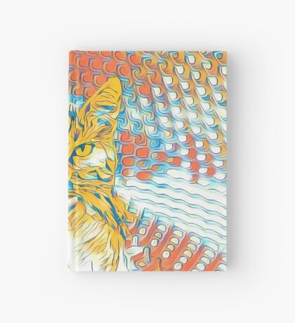 Yellow Cat Hardcover Journal