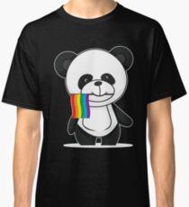 Gay Pride Panda Shirt Classic T-Shirt