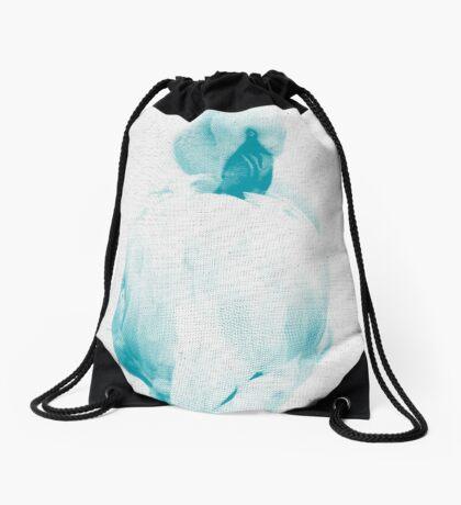 Flamingo 01 Drawstring Bag