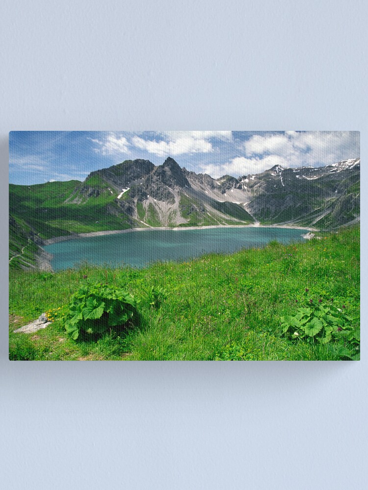 Alternate view of Lünersee, Austria Canvas Print