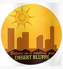 Desert Bluffs - Night Vale Poster