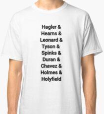 80s favourite boxers Tyson Classic T-Shirt
