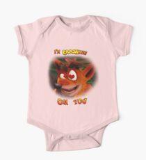 Crash Bandicoot - I'm Crashing on You Kids Clothes