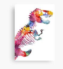 Funkosaurus Rex Canvas Print
